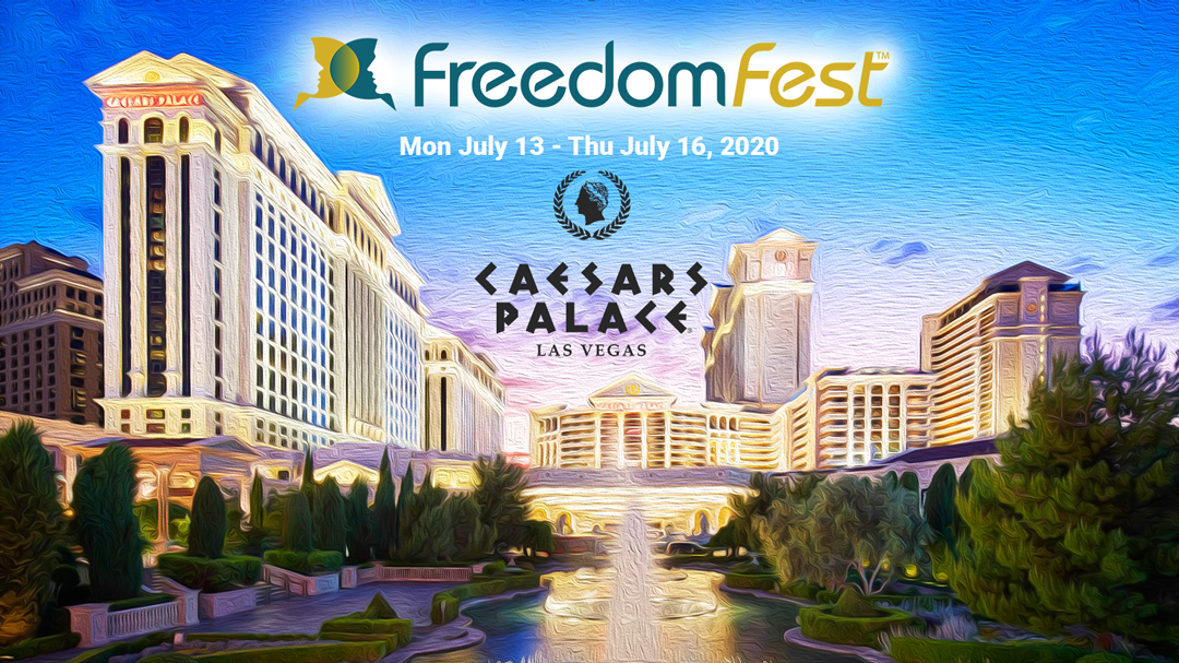freedomfest at caesar's palace july 13 - 16, 2020