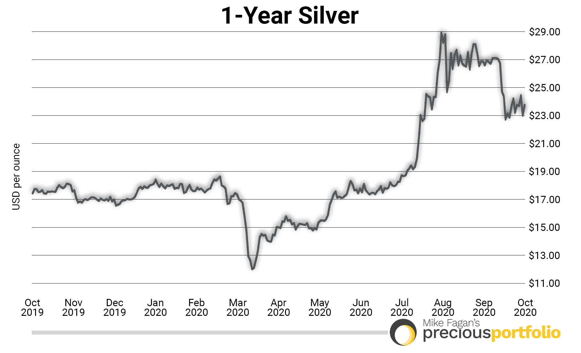 1-year silver