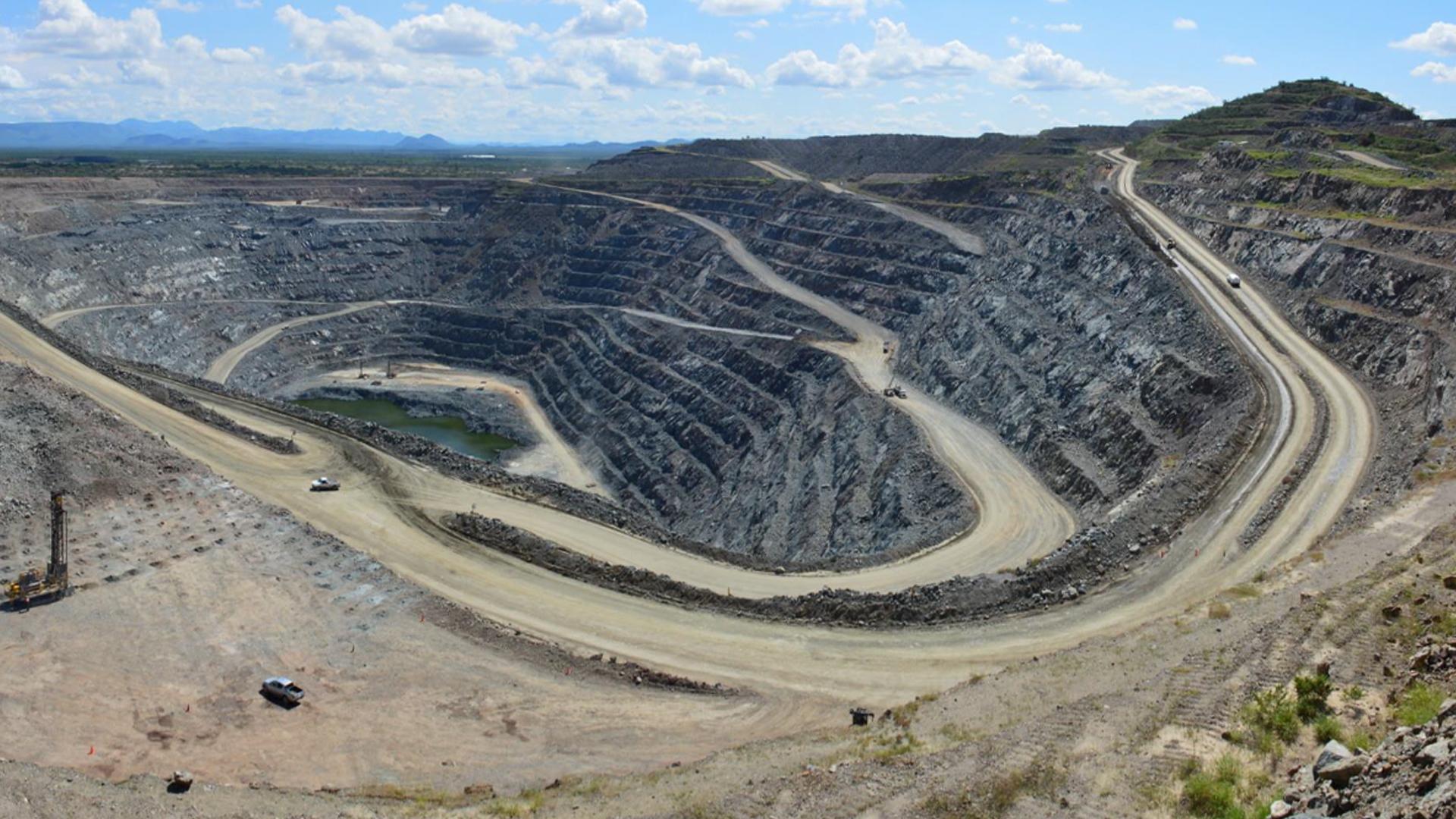 Magna Gold pit