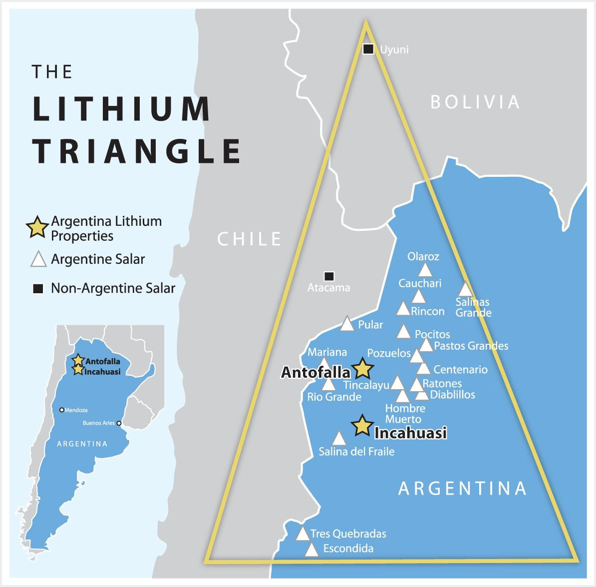 lithium triangle map