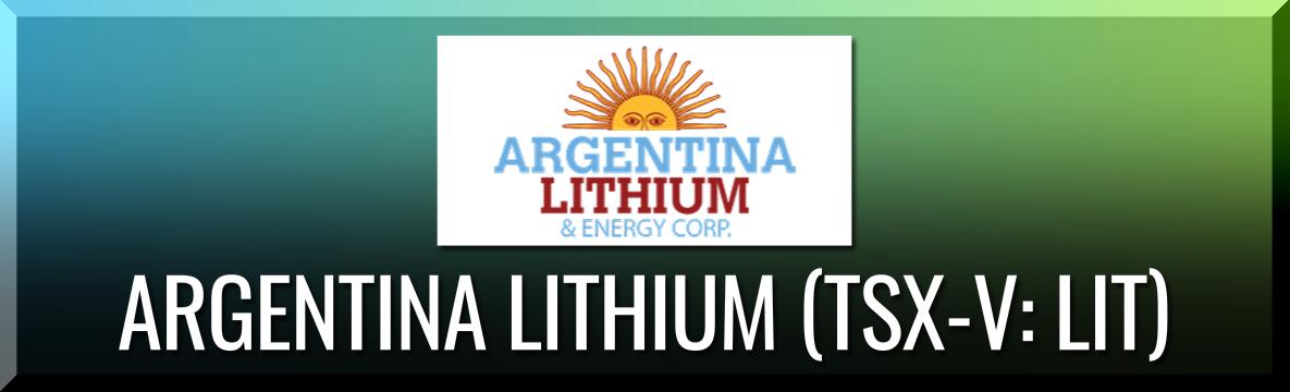 Argentina Lithium & Energy Corp